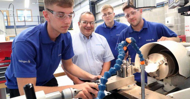 2019-09-20 Ensinger UK chosen as finalists for the Apprenticeship Awards Cymru